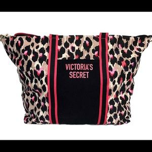 Victoria secret Sexy leopard weekend tote large